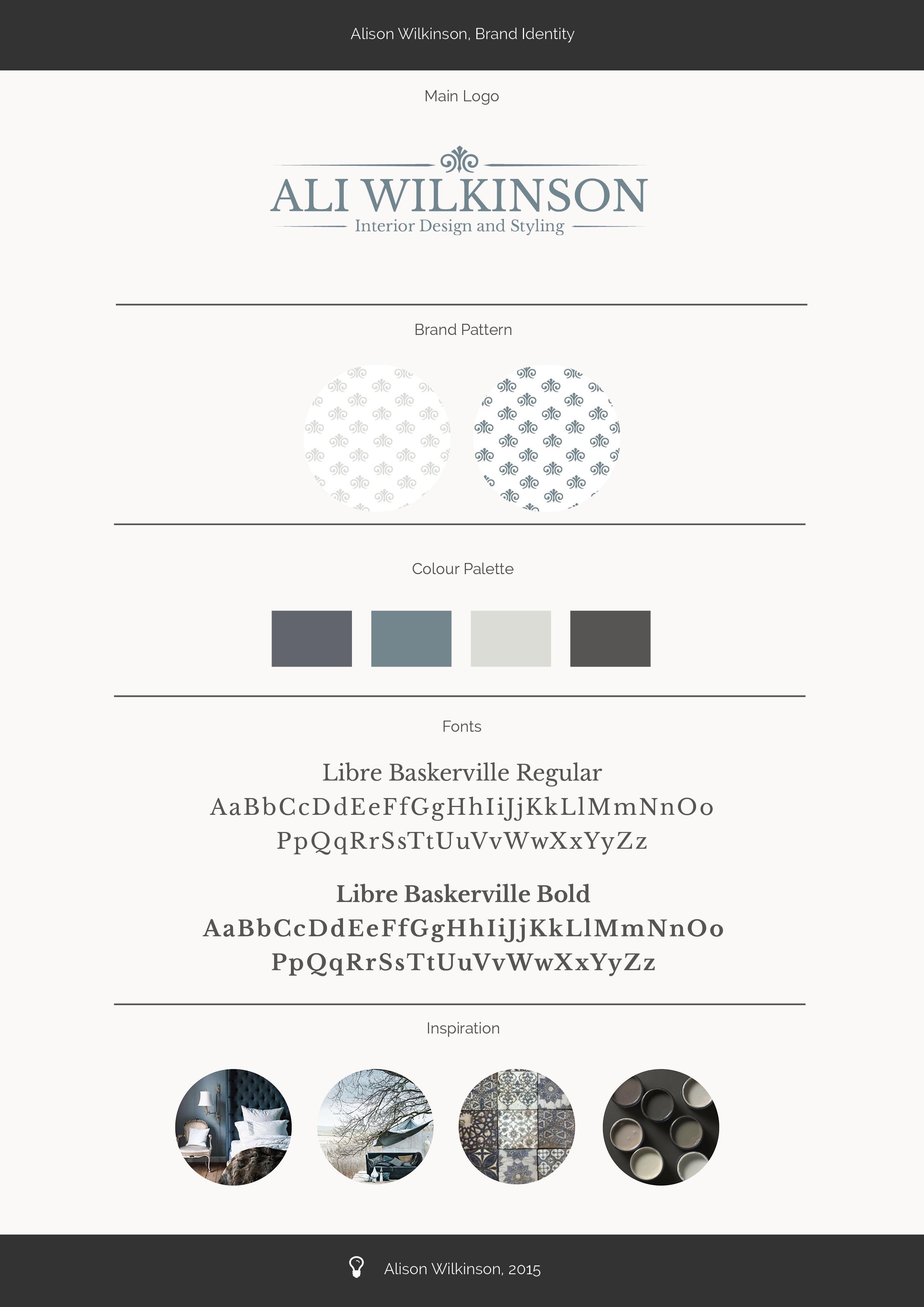 Alison Wilkinson Brand Identity