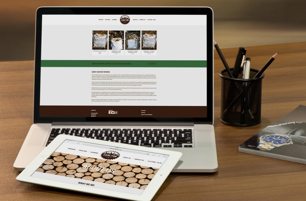 Carlton Woodmill Website About Page