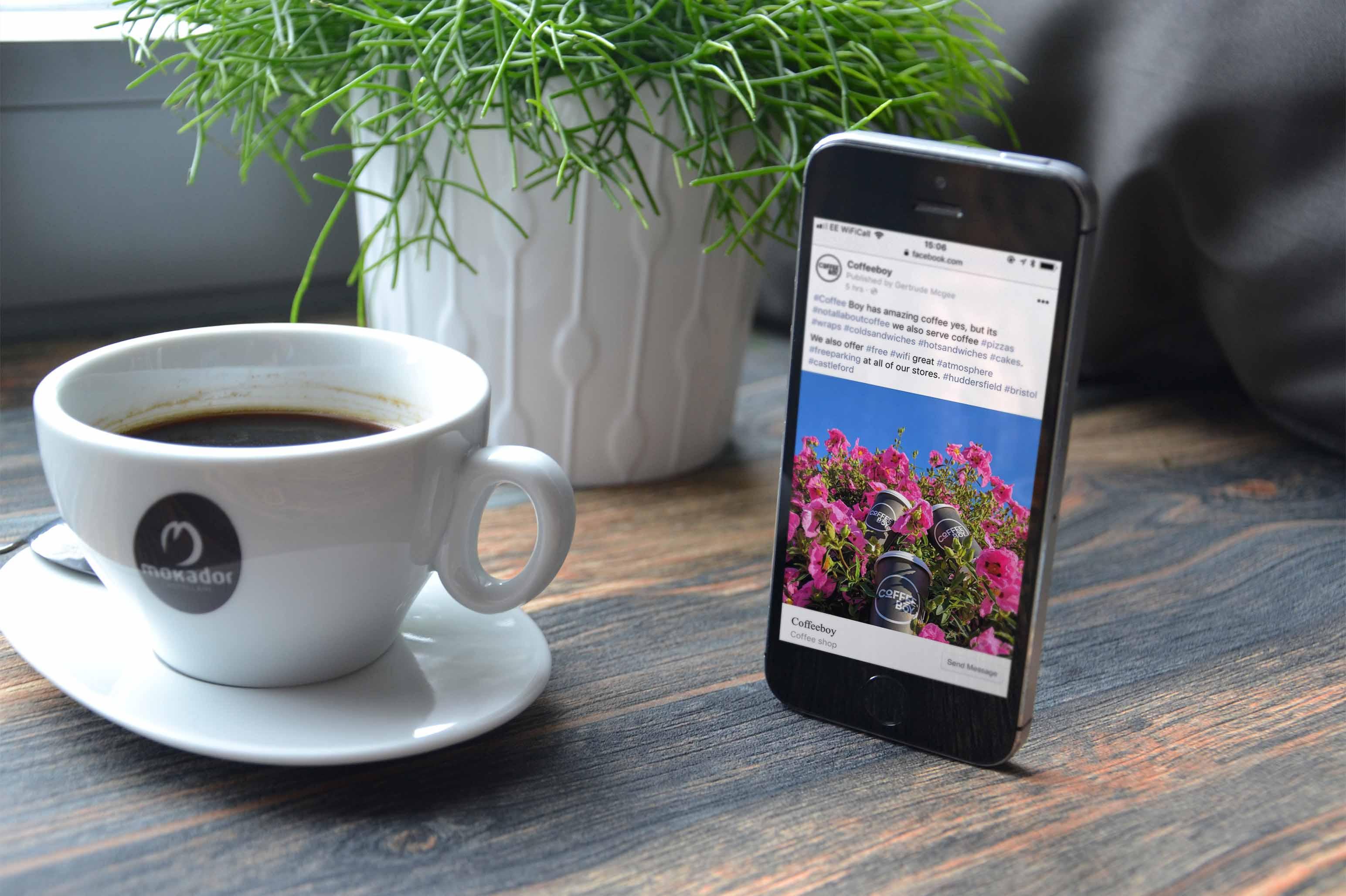 CoffeeBoy Facebook Page