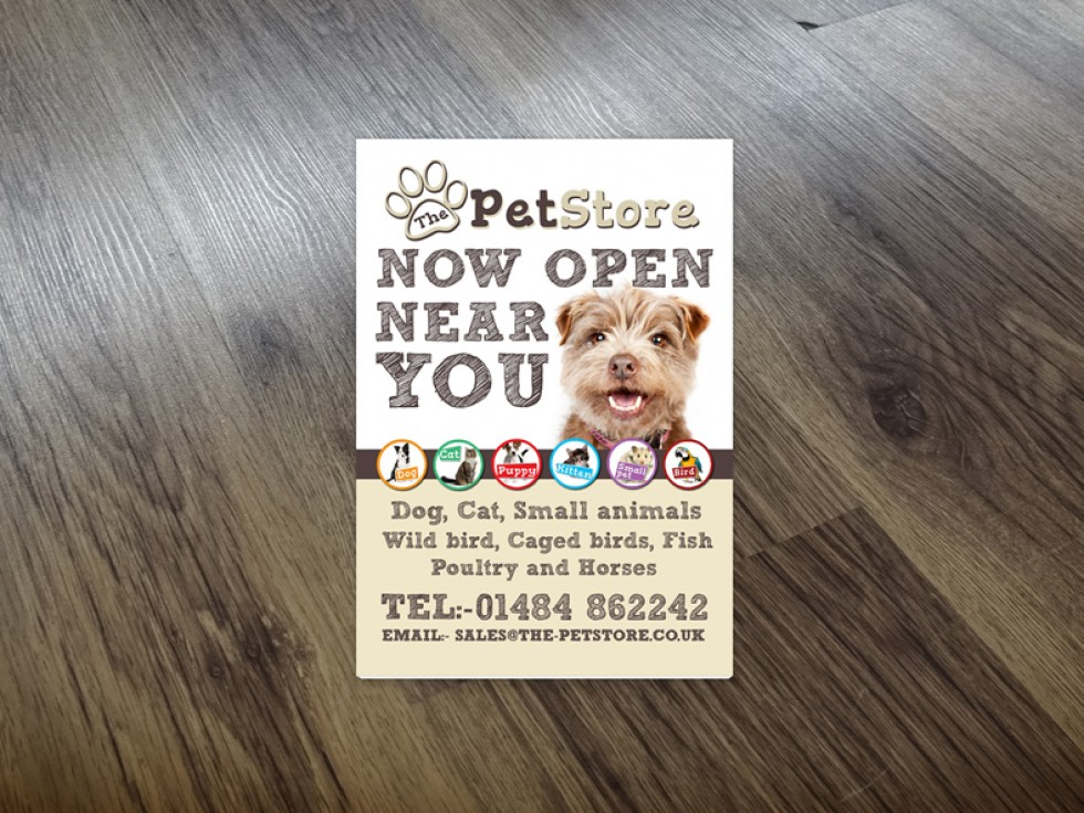 The Pet Store Leaflet