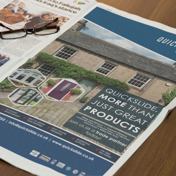 Quickslide Advert Design