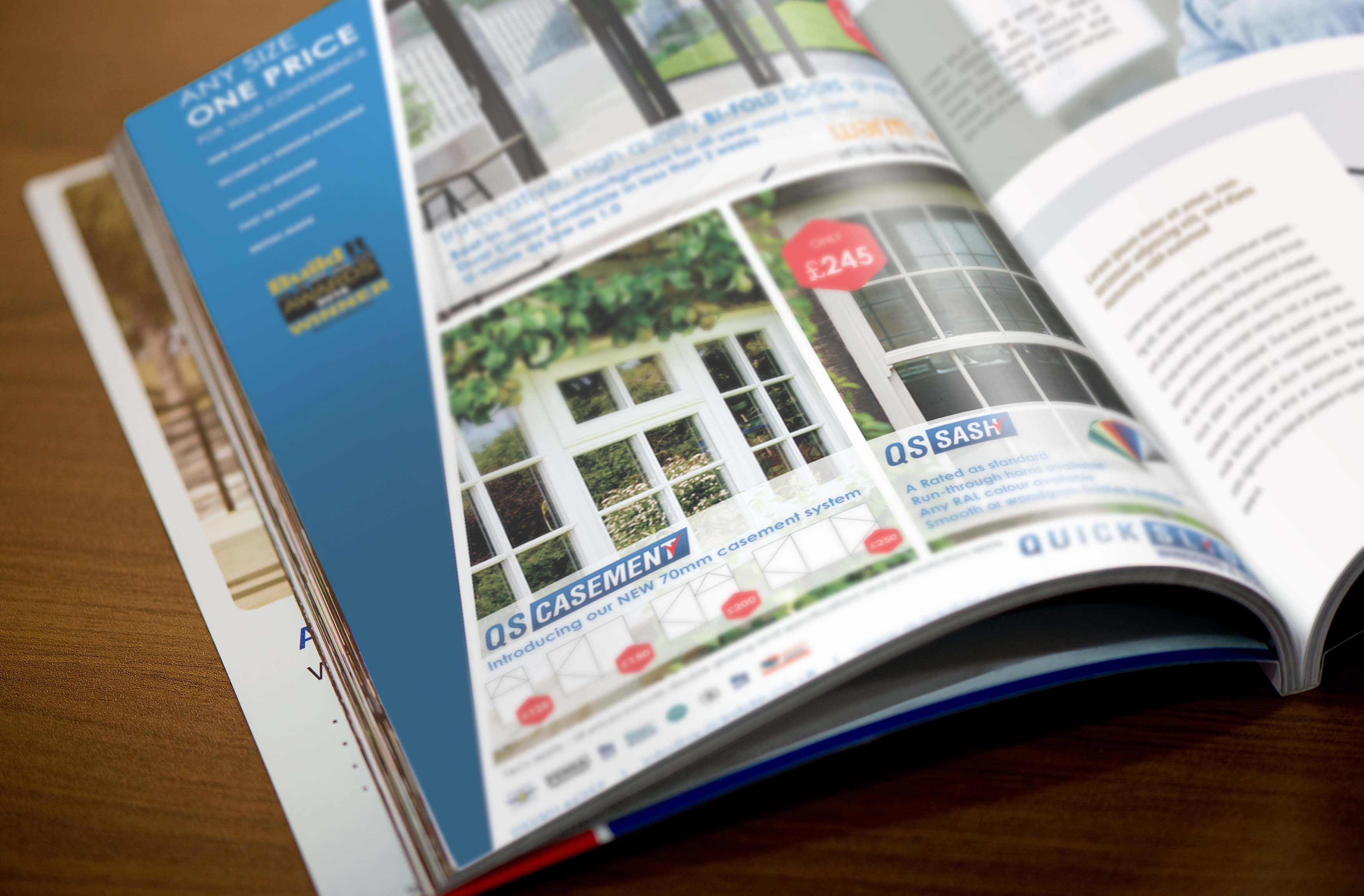 Quickslide Brochure Design
