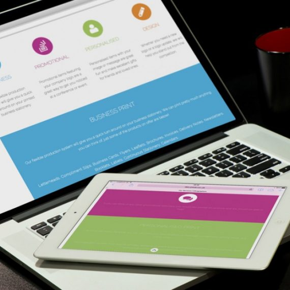 Ultragraphics Website Services Page