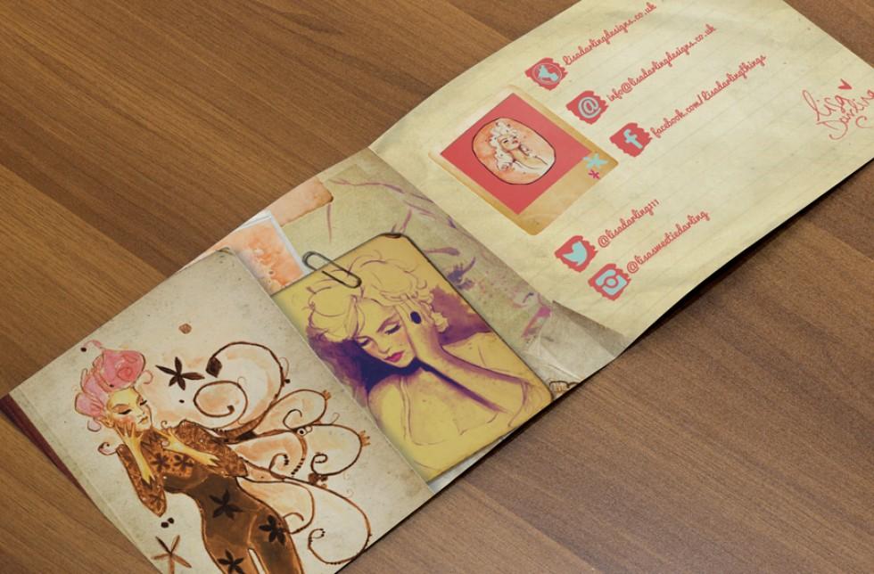 Lisa Darling Brochure Design