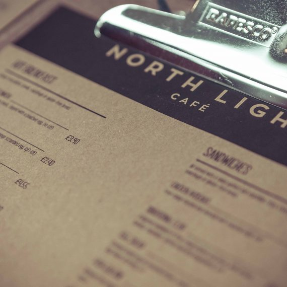 North Light Menu Design
