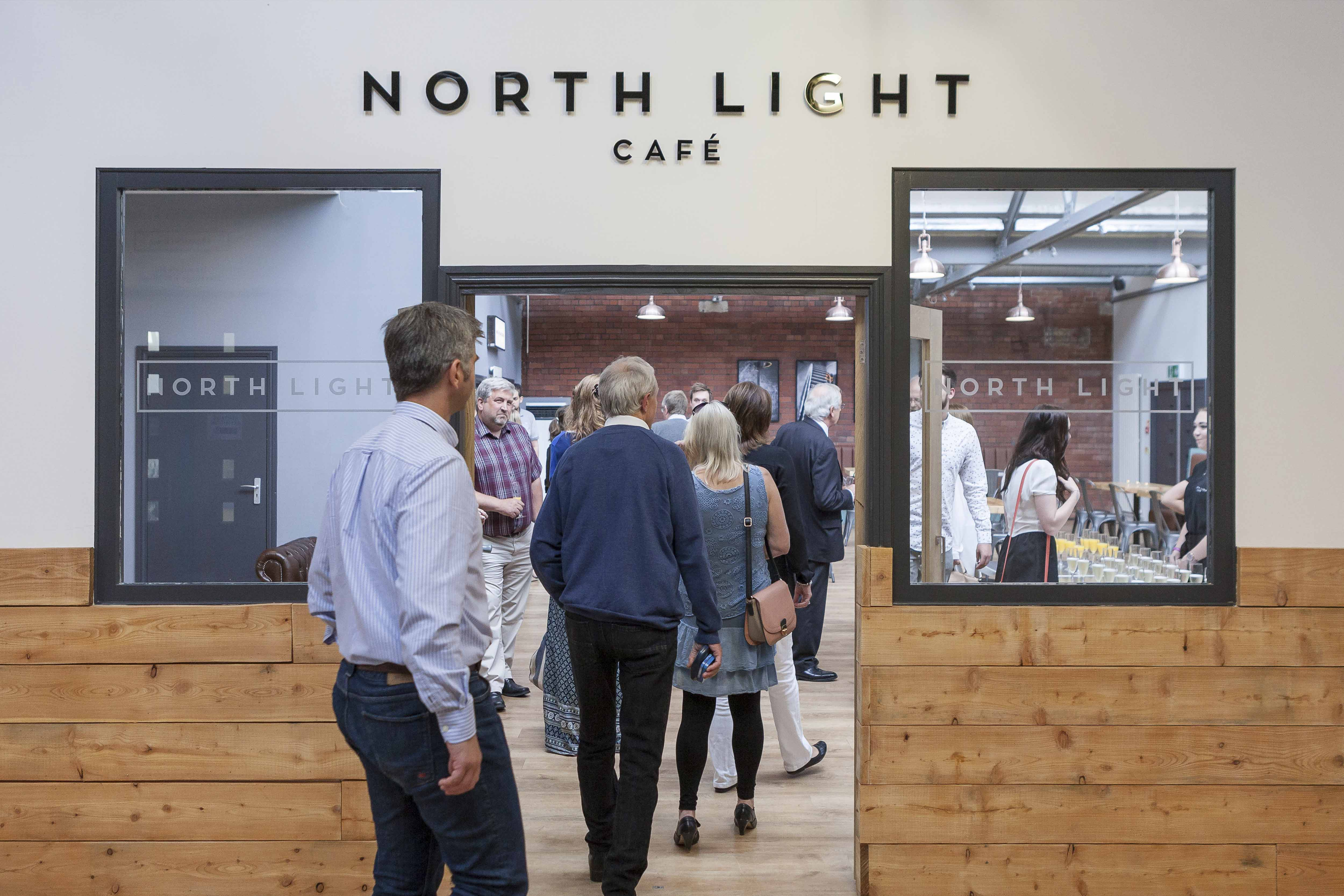 North Light External Signage Design