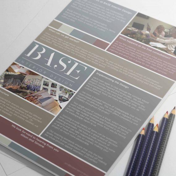 Base Interior Design Leaflet
