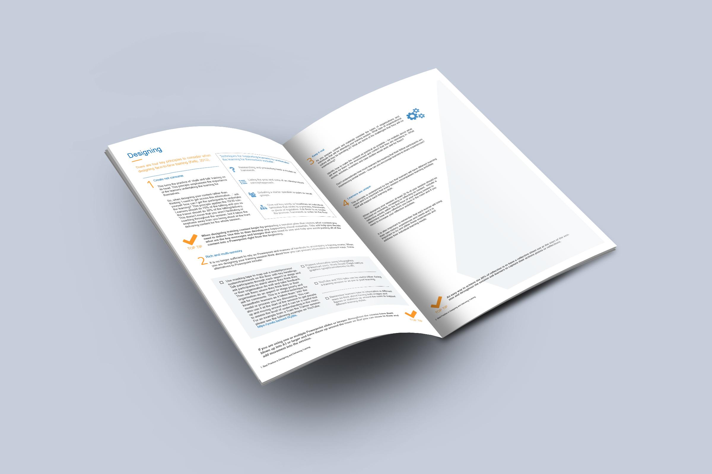brochure design course - pwar creative brochure design corporate training