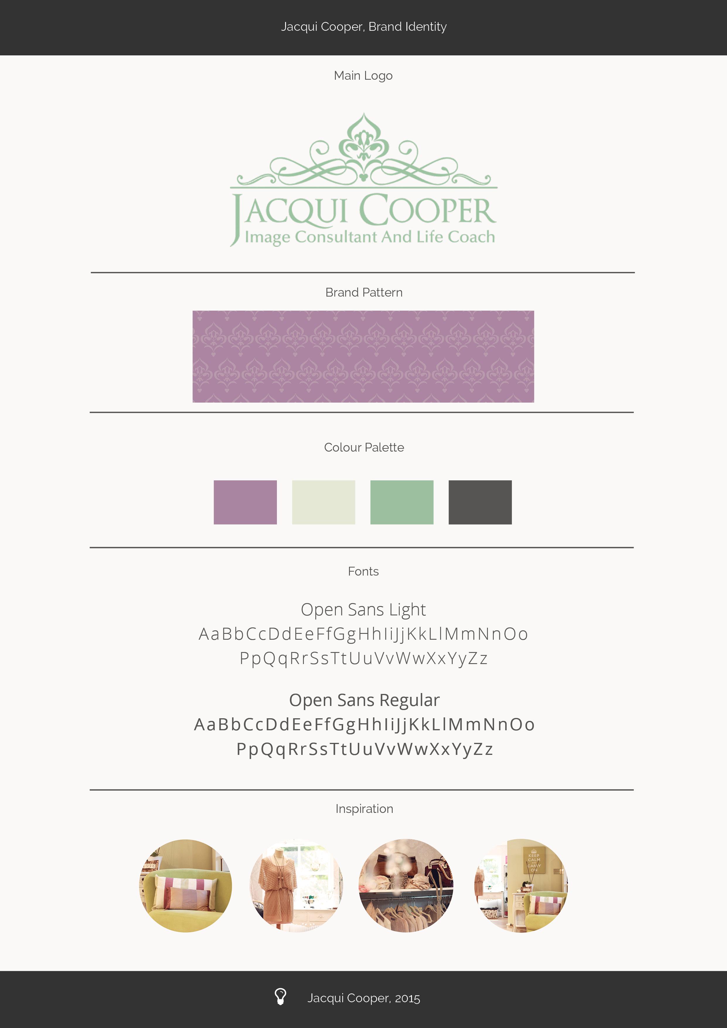 Jacqui Cooper Brand Identity