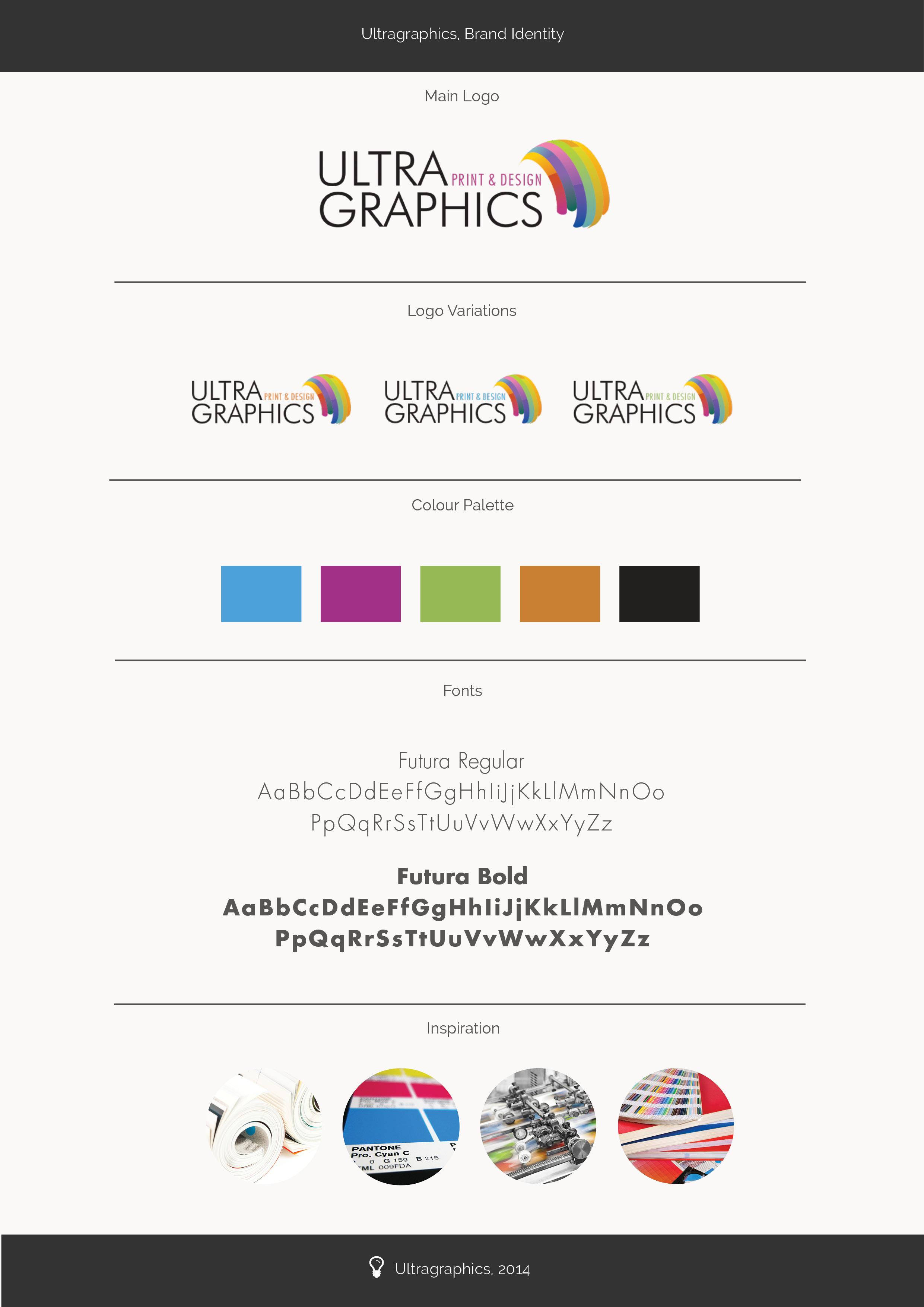 Brand Identity Ultragraphics
