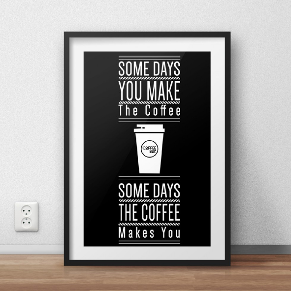 CoffeeBoy Poster