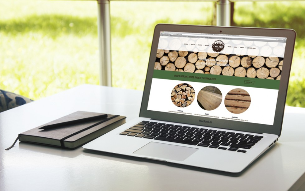 Carlton Woodmill Website Home Page