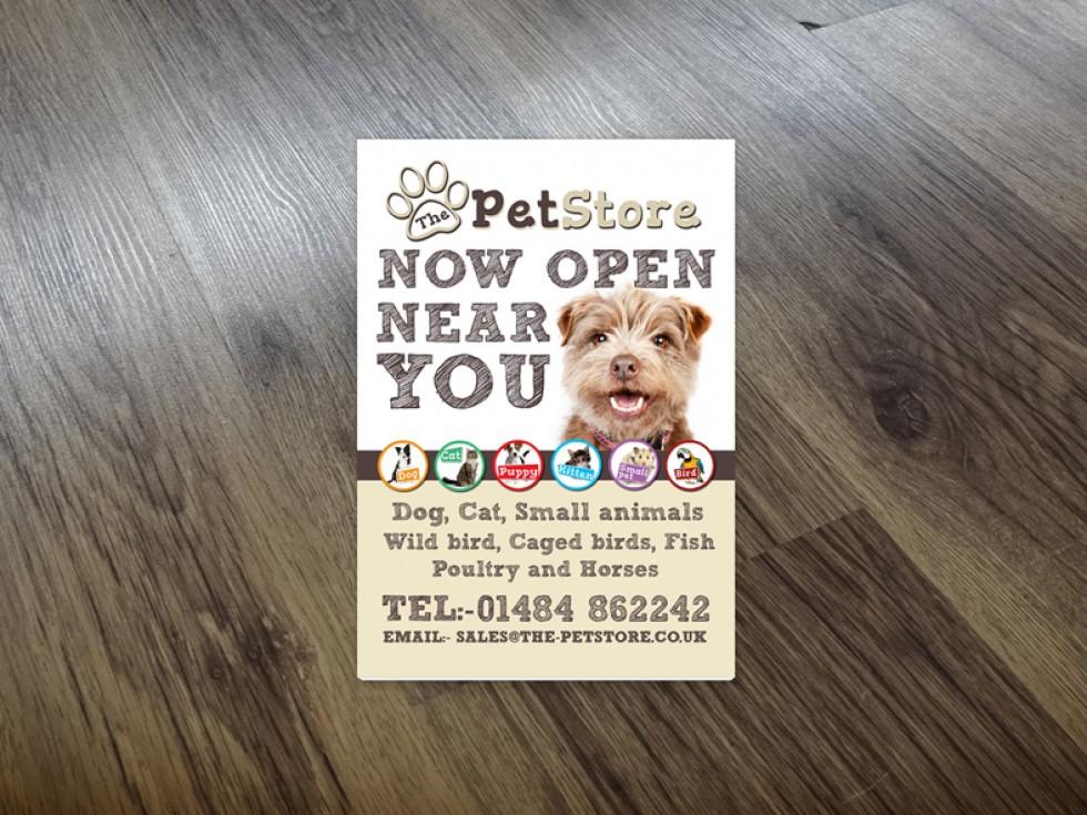The Pet Store Leaflet