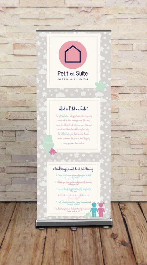 Petit Ensuite Banner Stand