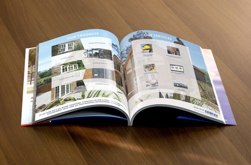 Quickslide Brochure Design