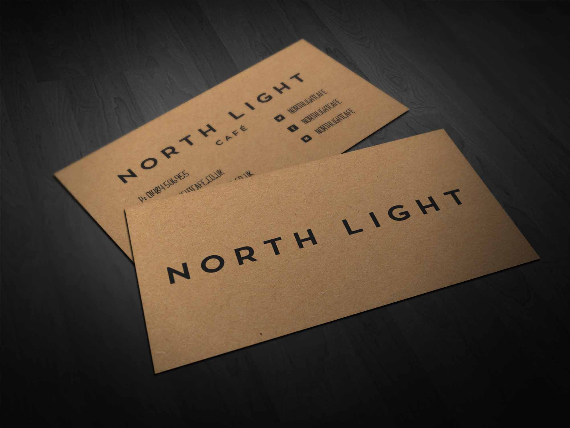 North Light Business Card Design
