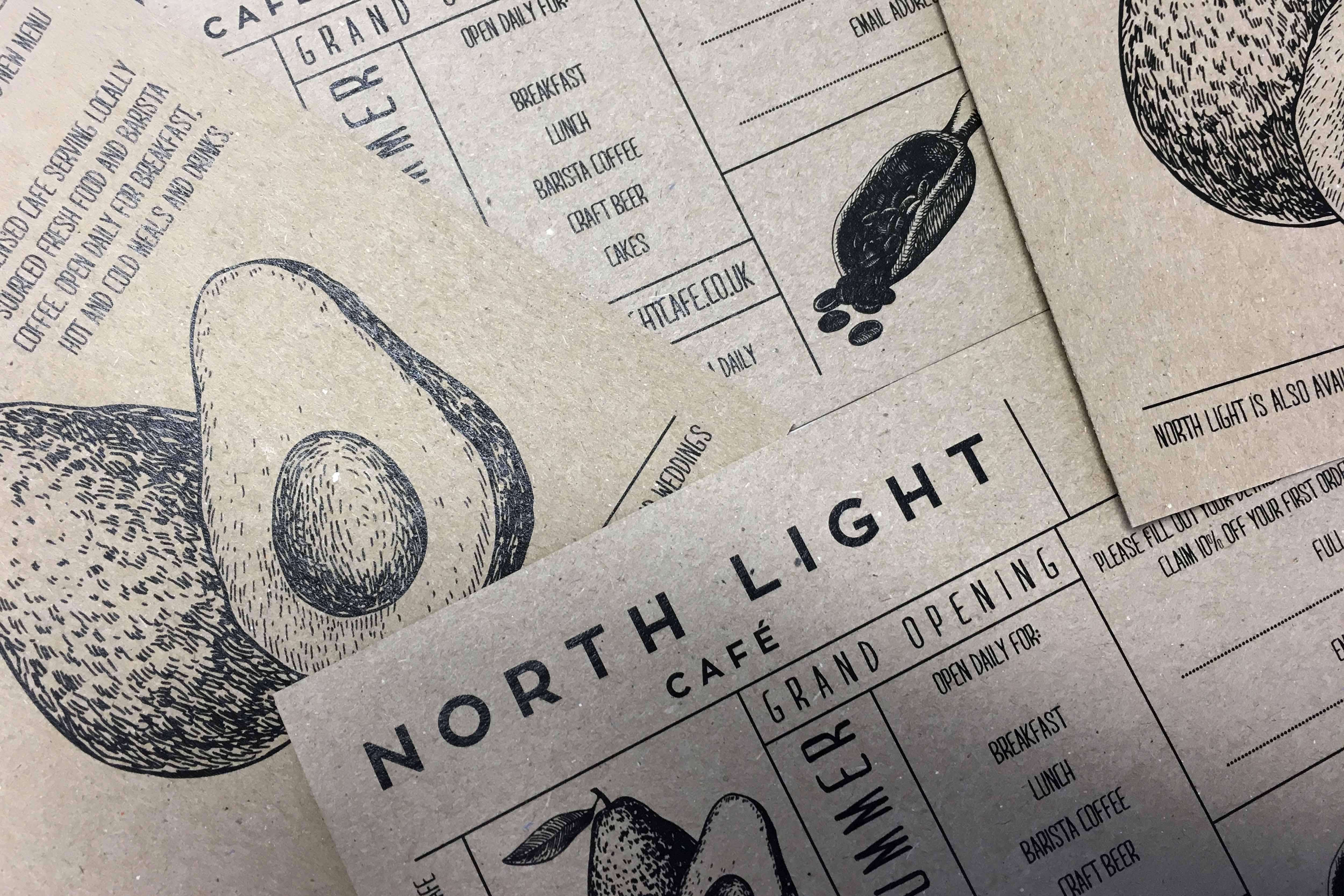 North Light Leaflet Design
