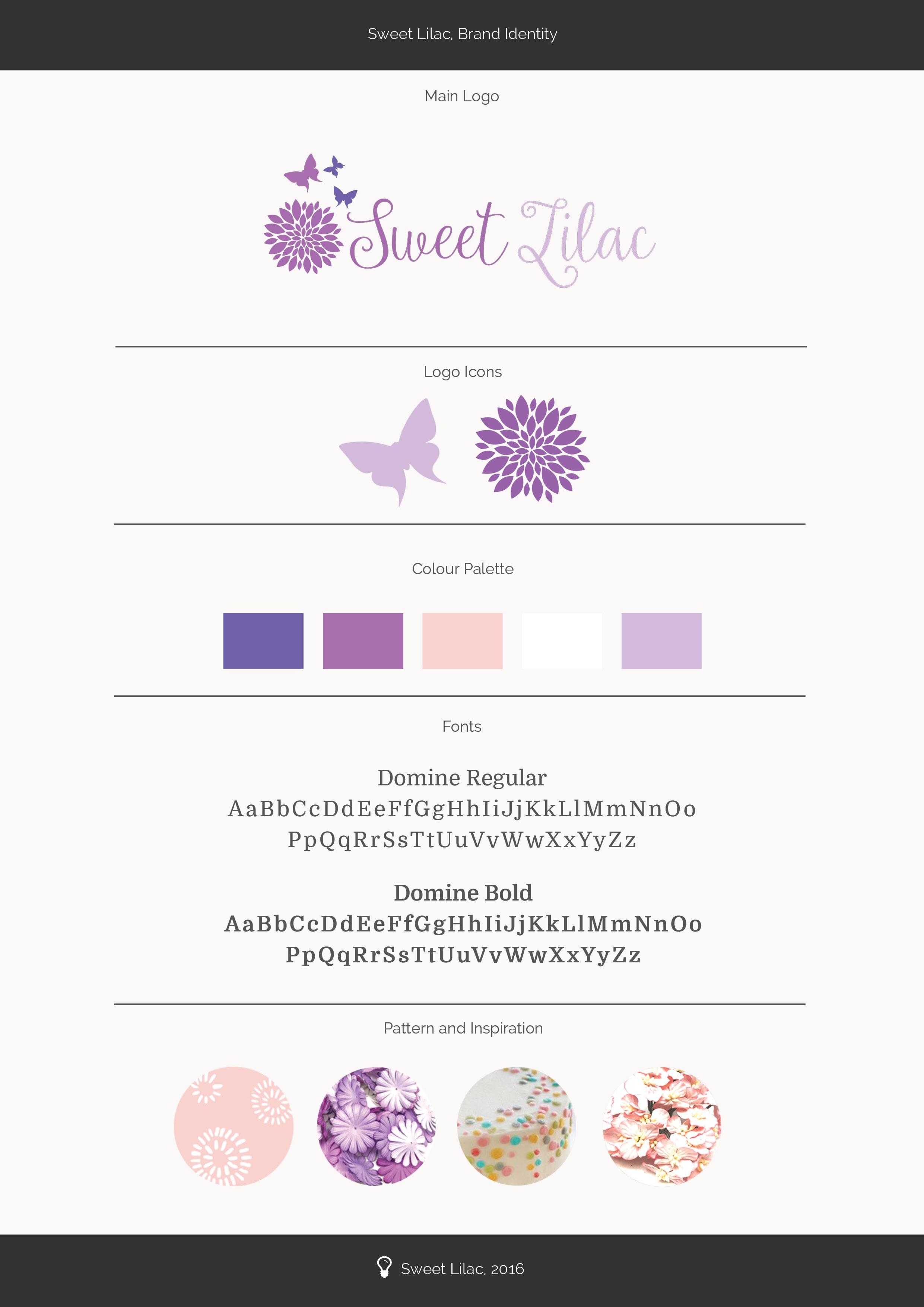Sweet Lilac Brand Identity