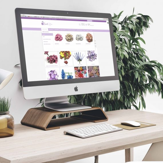 Sweet Lilac Website Product Page