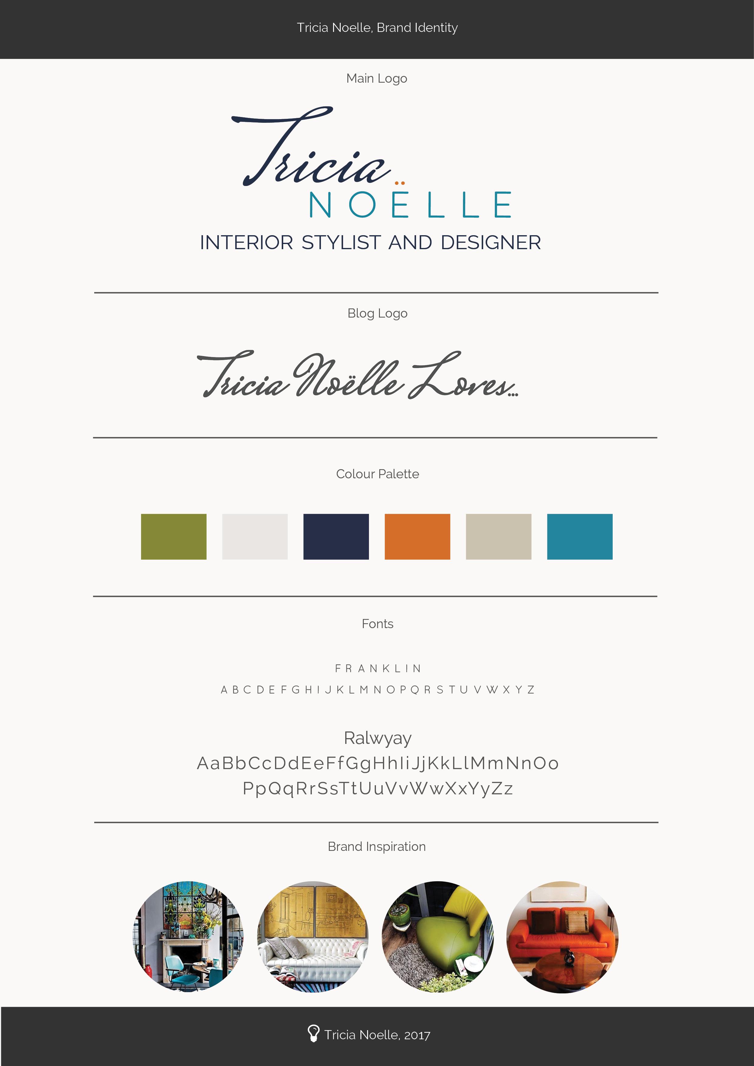 Tricia Noelle Brand Identity